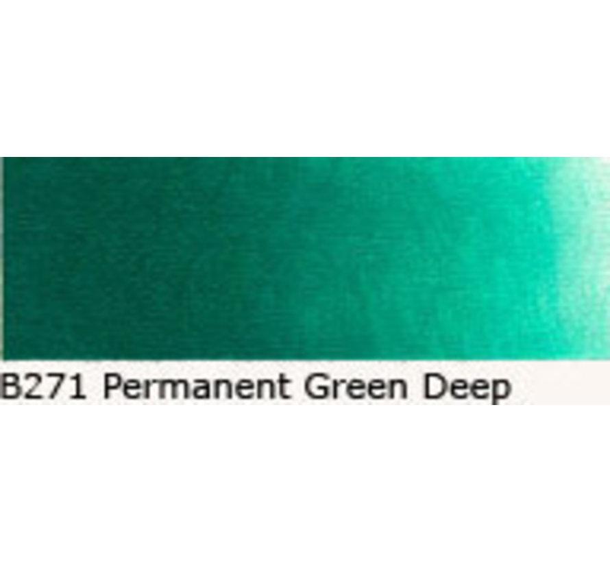 Scheveningen olieverf 40ml permanent green deep B271