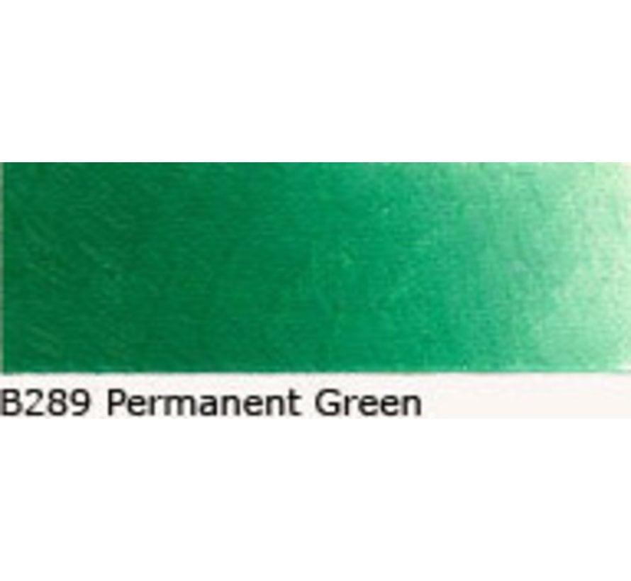 Scheveningen olieverf 40ml permanent green B289
