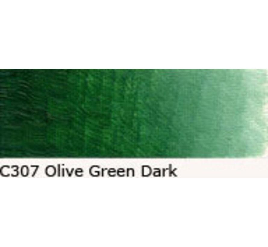 Scheveningen olieverf 40ml olive green dark C307