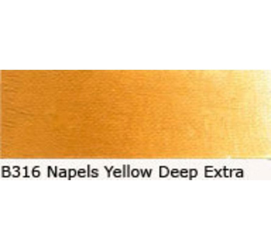 Scheveningen olieverf 40ml naples yellow deep extra B316