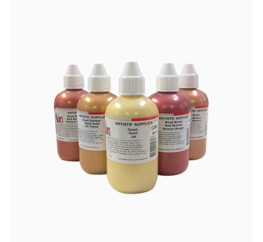 Artist acrylverf 250ml Metalic Wit M630
