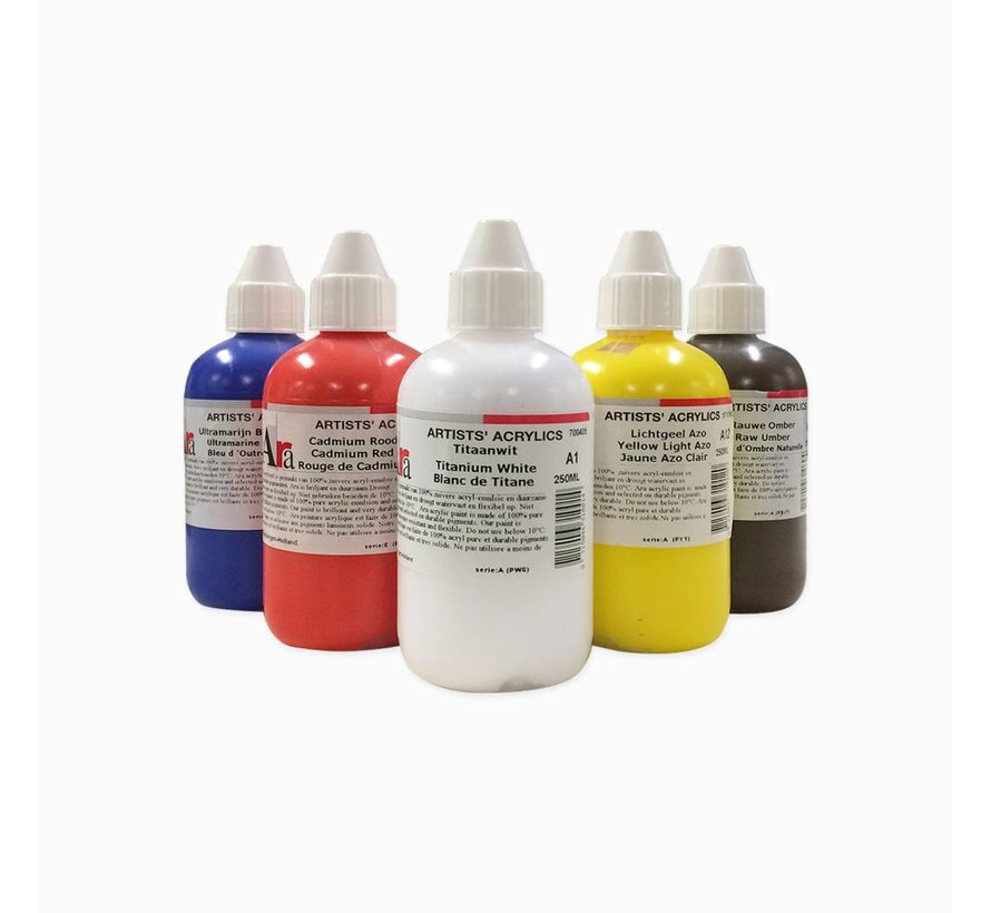 Artist acrylverf 250ml Red Medium (Naphtol) B176