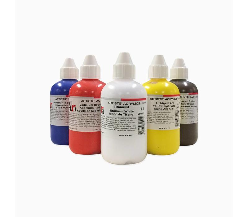 Artist acrylverf 250ml Brilliant Blue Light A251