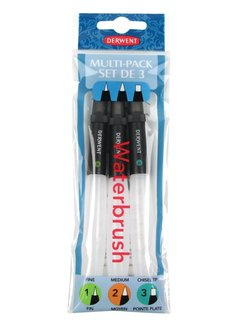 Derwent Waterbrush set