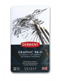 Derwent Graphic schetspotlood blik 12 soft