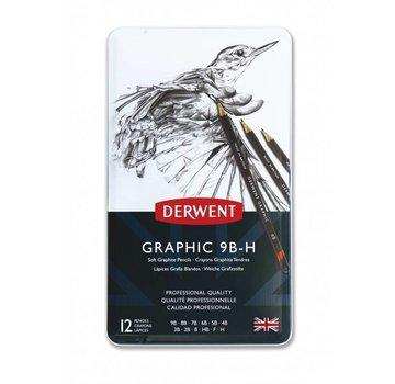 Derwent Graphic schetspotlood blik 12 soft