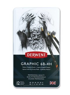 Derwent Graphic schetspotlood blik 12 medium