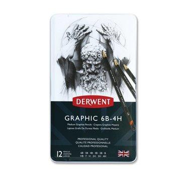 Derwent Graphic schetspotlood blik 12 medium