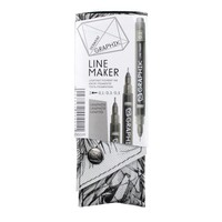 GRAPHIK line maker set 3 graphite