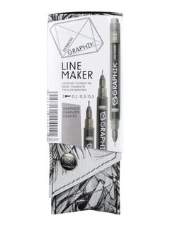 Derwent GRAPHIK line maker set 3 graphite