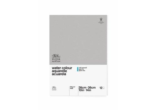 Winsor & Newton Classic Aquarelpapier Blok 300gr 12 vel 26x36cm