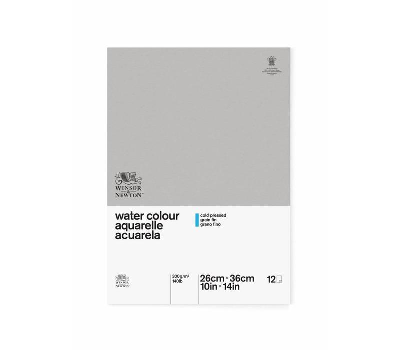 Classic Aquarelpapier Blok 1-zijdig gelijmd 300gr 12 vel 26x36cm