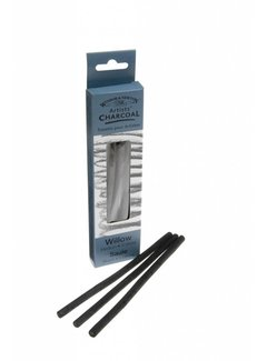 Winsor & Newton Willow Houtskool Medium 3 Stuks