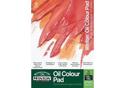 Winsor & Newton Winton Olieverfblok 1-zijdig gelijmd 230gr. 10 vel 406x305mm