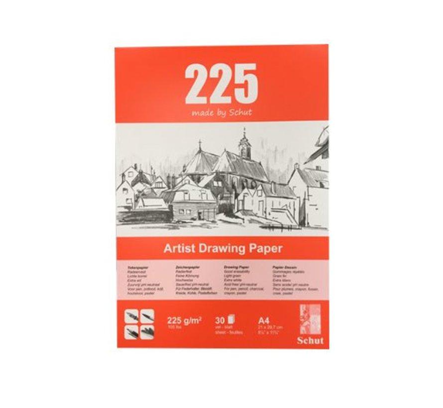 Schut Artist Drawing Paper 225gr A4