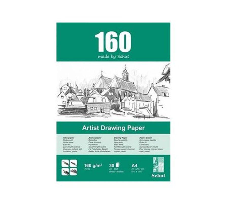 Schut Artist Drawing Paper 160gr A4