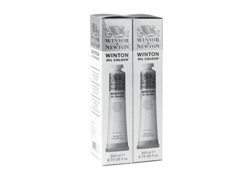Winsor & Newton Winton 200ml x 2 duopack titaanwit