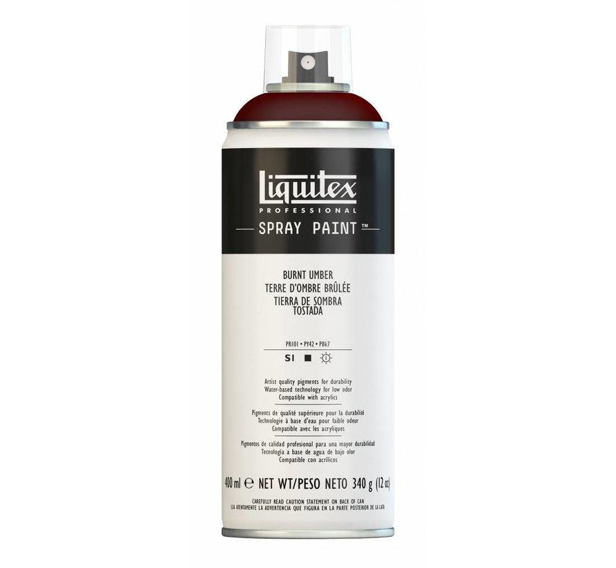 Liquitex acrylverf spuitbus 400ml Burnt Umber