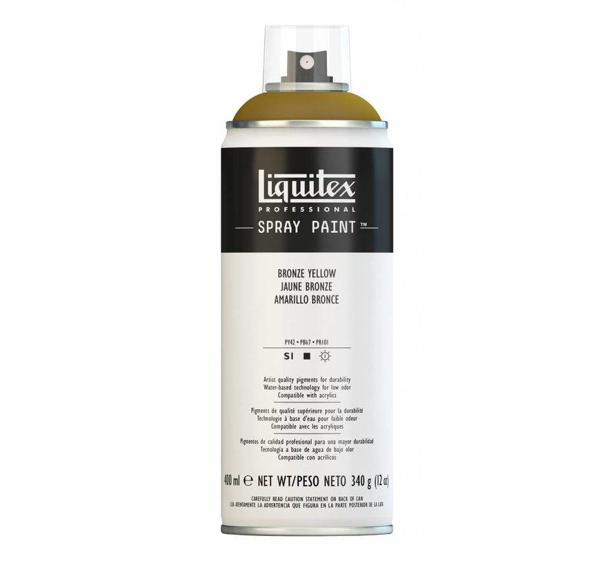 Liquitex acrylverf spuitbus 400ml Bronze Yellow