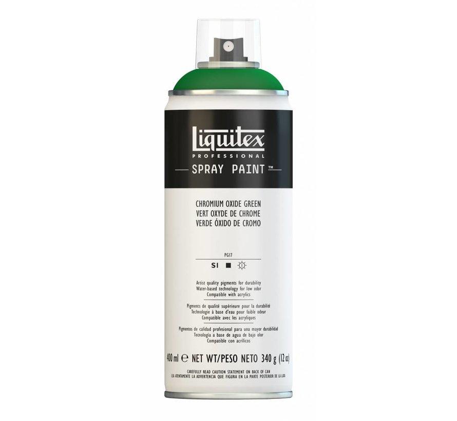 Liquitex acrylverf spuitbus 400ml Chromium Oxide Green