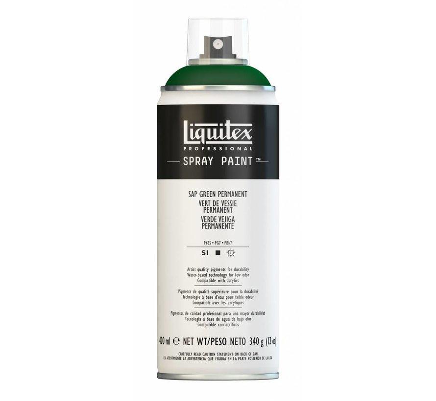 Liquitex acrylverf spuitbus 400ml Sap Green Permanent