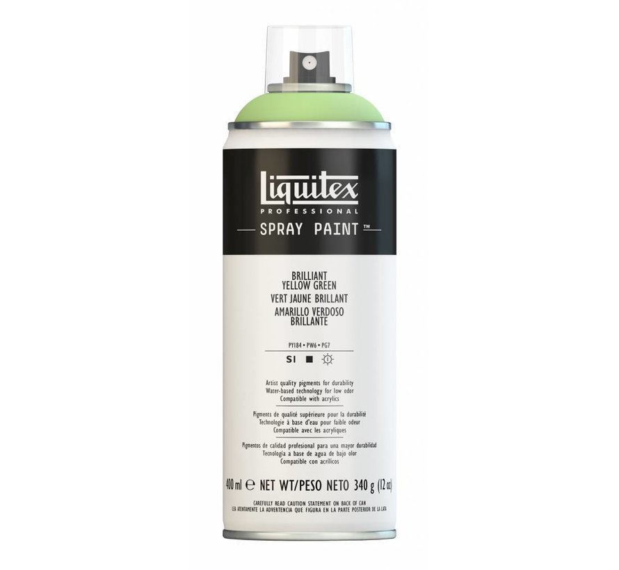 Liquitex acrylverf spuitbus 400ml Brilliant Yellow Green