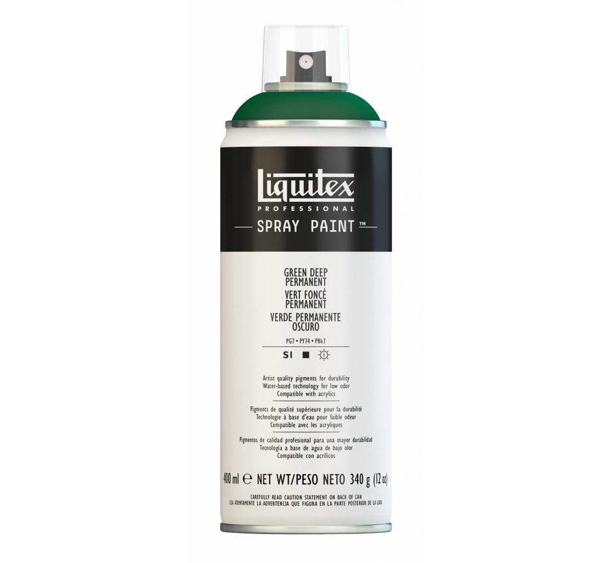 Liquitex acrylverf spuitbus 400ml Green Deep Permanent