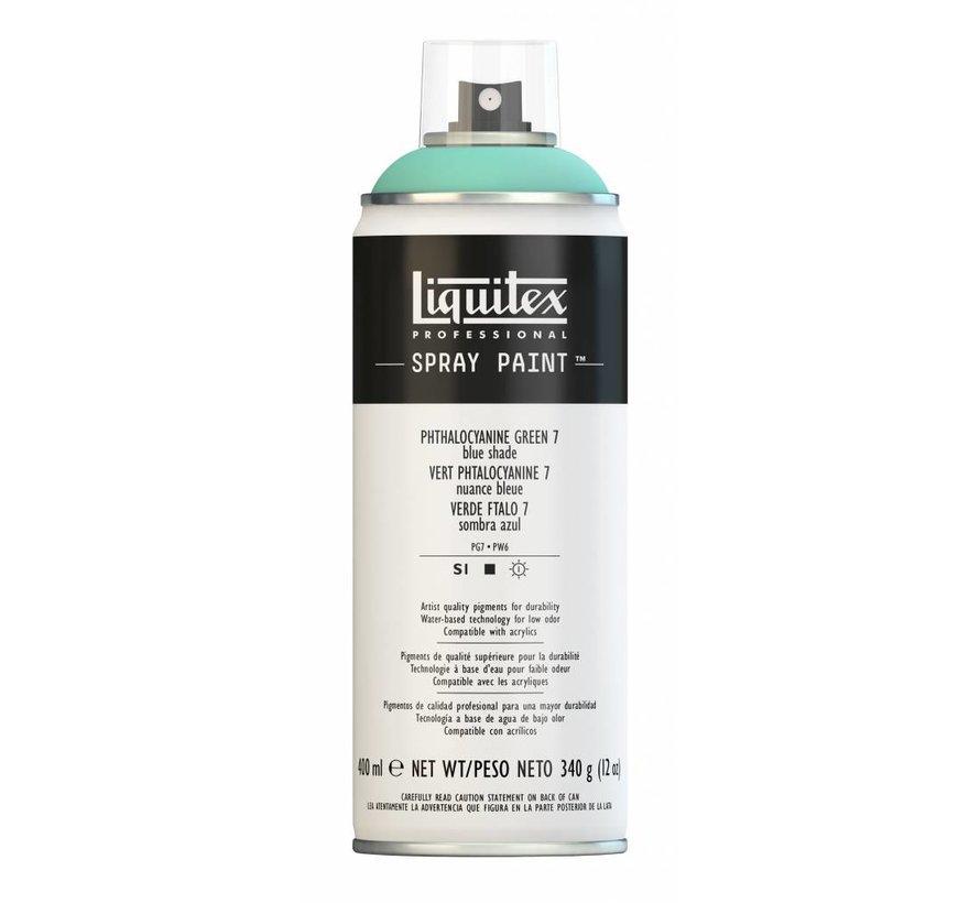 Liquitex acrylverf spuitbus 400ml Phthalo Green 7 (Blue shade)