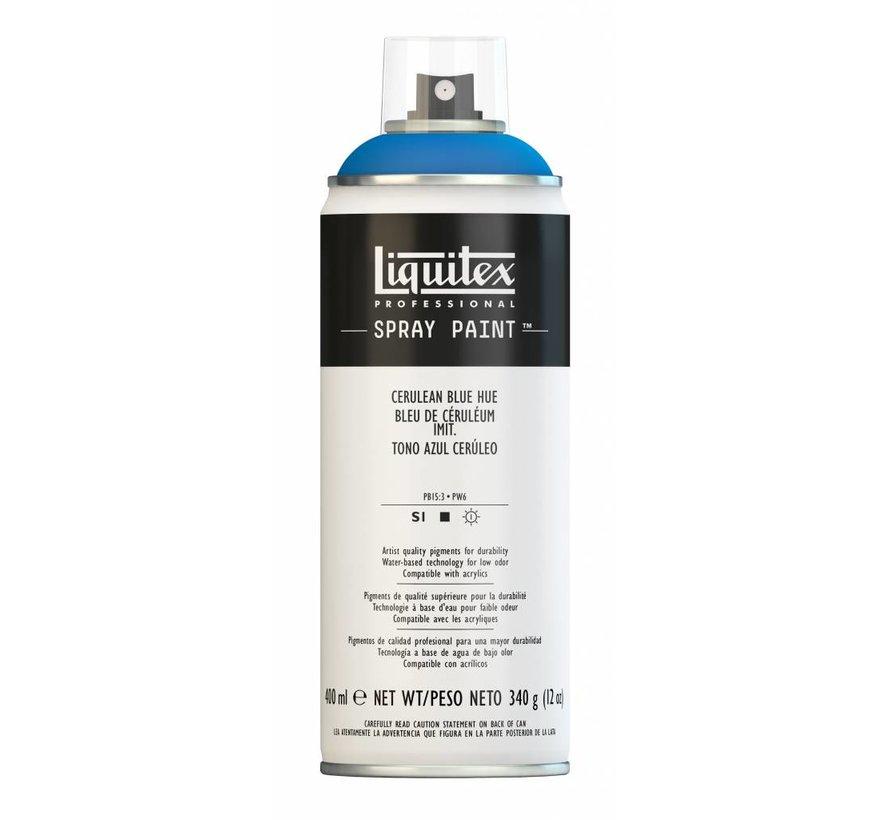 Liquitex acrylverf spuitbus 400ml Cerulean Blue Hue