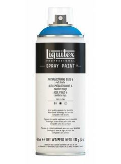 Liquitex Liquitex acrylverf spuitbus 400ml Phthalo Blue 6 (Red shade)