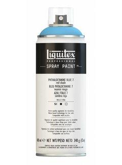 Liquitex Liquitex acrylverf spuitbus 400ml Phthalo Blue 7 (Red shade)