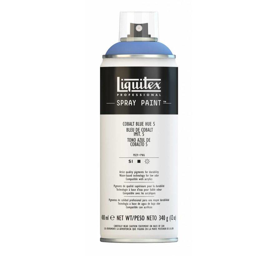Liquitex acrylverf spuitbus 400ml Cobalt Blue Hue 5