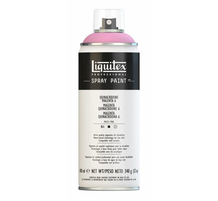 Liquitex acrylverf spuitbus 400ml Quinacridone Magenta 6