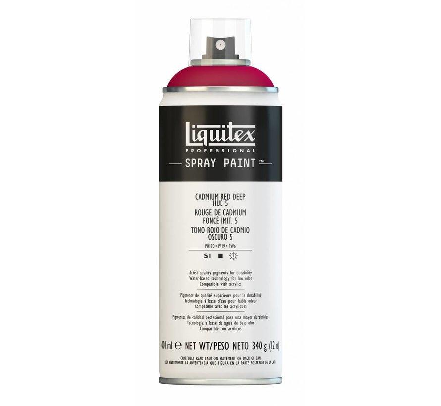 Liquitex acrylverf spuitbus 400ml Cadmium Red Deep Hue 5