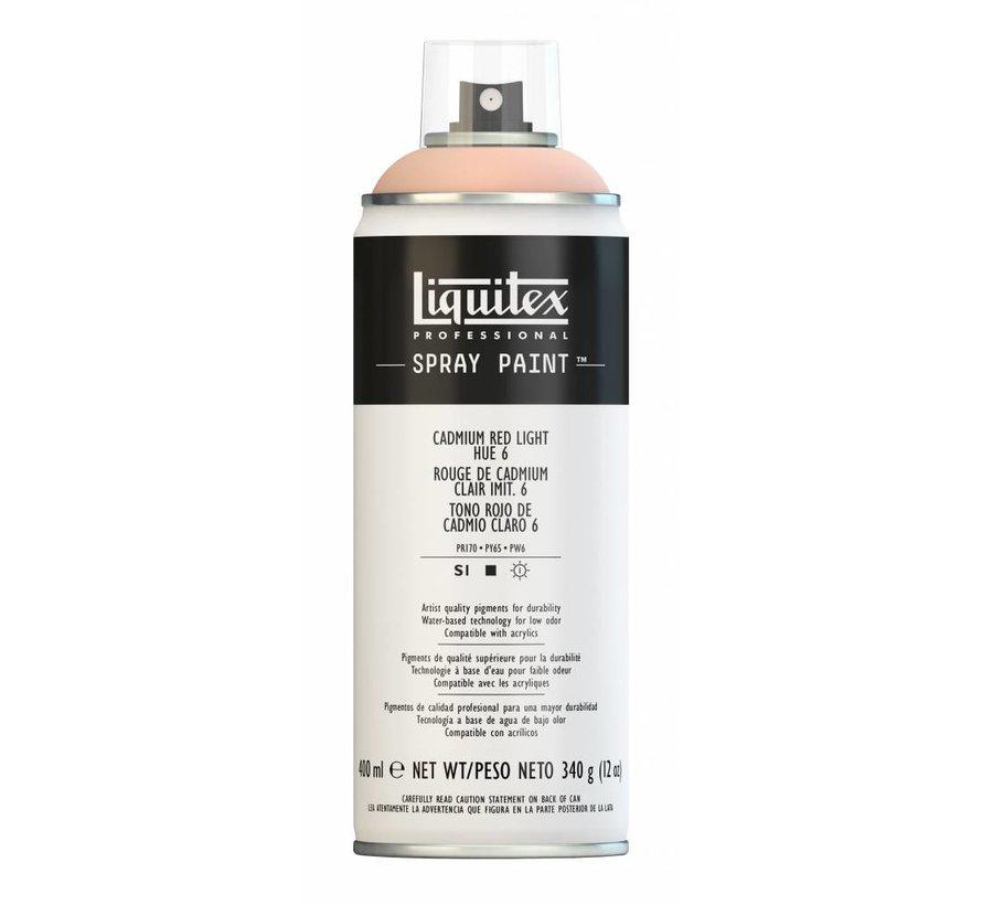 Liquitex acrylverf spuitbus 400ml Cadmium Red Light Hue 6