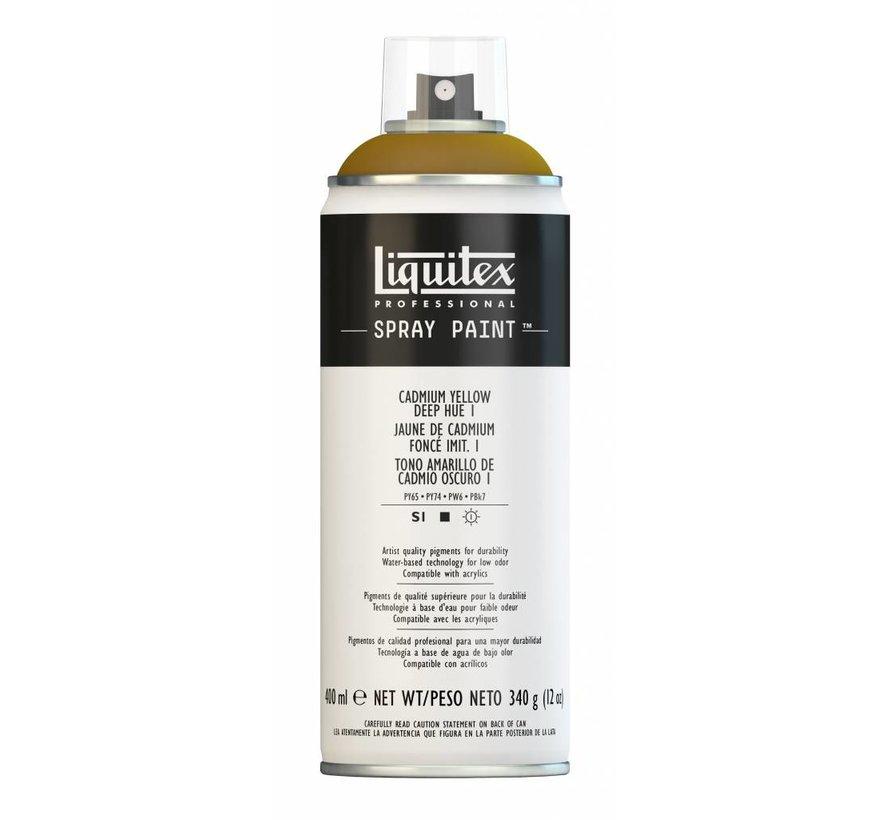 Liquitex acrylverf spuitbus 400ml Cadmium Yellow Deep Hue 1