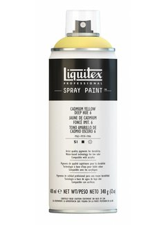 Liquitex Liquitex acrylverf spuitbus 400ml Cadmium Yellow Deep Hue 6