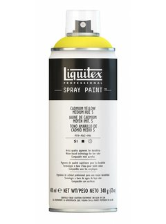 Liquitex Liquitex acrylverf spuitbus 400ml Cadmium Yellow Medium Hue  5