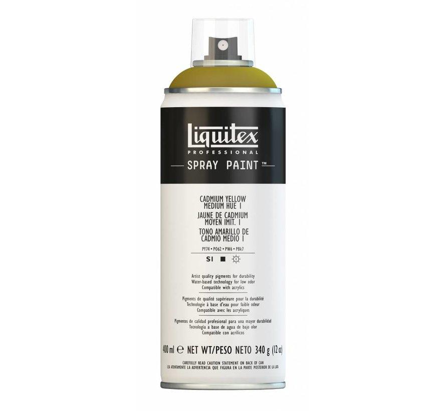 Liquitex acrylverf spuitbus 400ml Cadmium Yellow Medium Hue  1