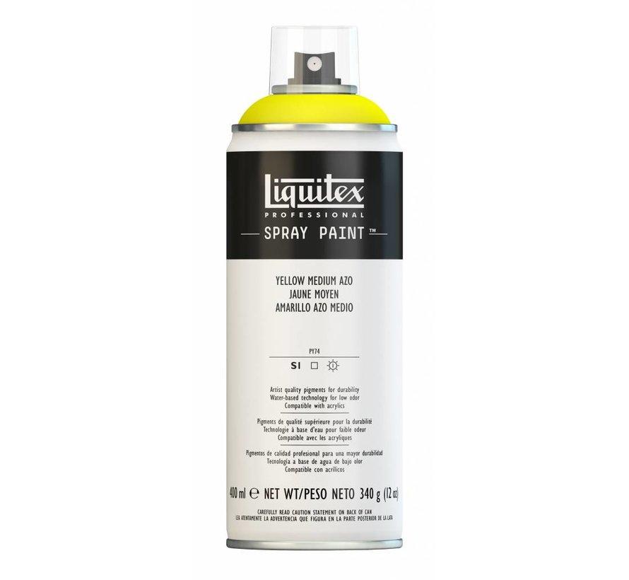 Liquitex acrylverf spuitbus 400ml Yellow Medium Azo