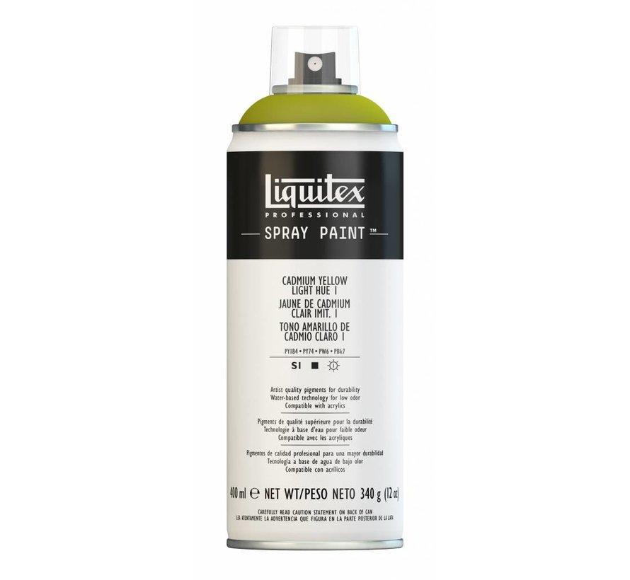 Liquitex acrylverf spuitbus 400ml Cadmium Yellow Light Hue 1