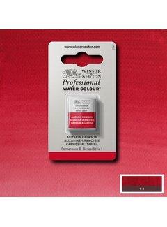 Winsor & Newton W&N pro. aquarelverf halve nap Alizarine Crimson S1