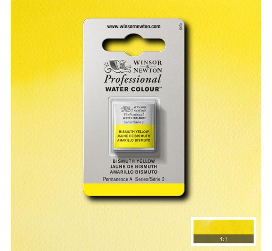 W&N pro. aquarelverf halve nap Bismuth Yellow S3