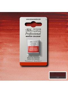 Winsor & Newton W&N pro. aquarelverf halve nap Brown Madder S1