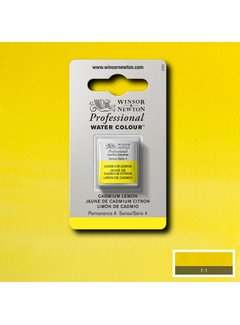 Winsor & Newton W&N pro. aquarelverf halve nap Cadmium Lemon S4