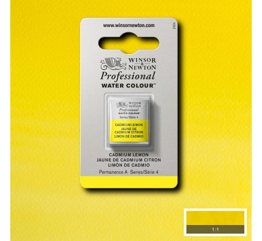 W&N pro. aquarelverf halve nap Cadmium Lemon S4