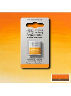 Winsor & Newton W&N pro. aquarelverf halve nap Cadmium Orange S4