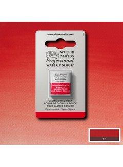 Winsor & Newton W&N pro. aquarelverf halve nap Cadmium Red Deep S4