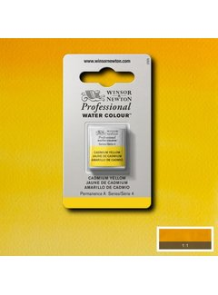Winsor & Newton W&N pro. aquarelverf halve nap Cadmium Yellow S4