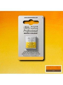Winsor & Newton W&N pro. aquarelverf halve nap Cadmium Yellow Deep S4